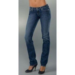 AG Adriano Goldschmied Casablanca Jeans 25R Blue